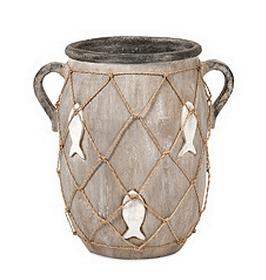 fishnet vase