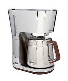 silver art collection coffee maker