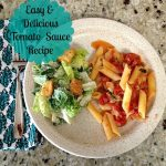 One of the Easiest and Best Tomato Sauce Recipes