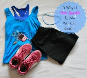 5 Ways I Add Sparkle to My Morning Workout