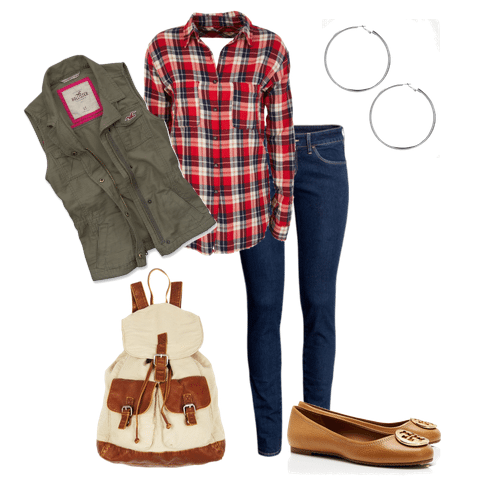 Back to School Outfit Ideas Teen Girls, back to school fashion, outfit