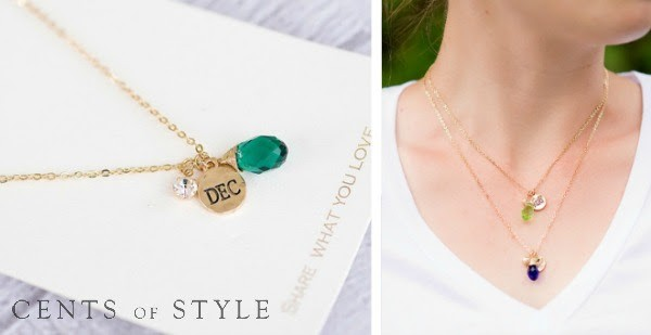 Cents of Style Birthstone Necklace