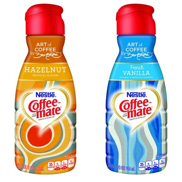 Coffee-mate David Bromstad bottles
