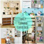 21 Family Command Center Ideas