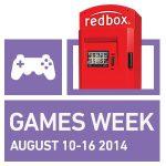 Redbox Brings Back Their Popular Games Week, August 10-16