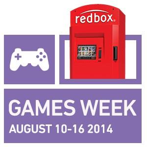 Redbox Games Week 2014, online game  rentals, Redbox promotions, Redbox video game rentals, Redbox news
