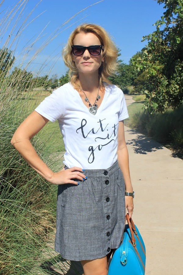 Let It Go T-Shirt, Cute Outfit Ideas