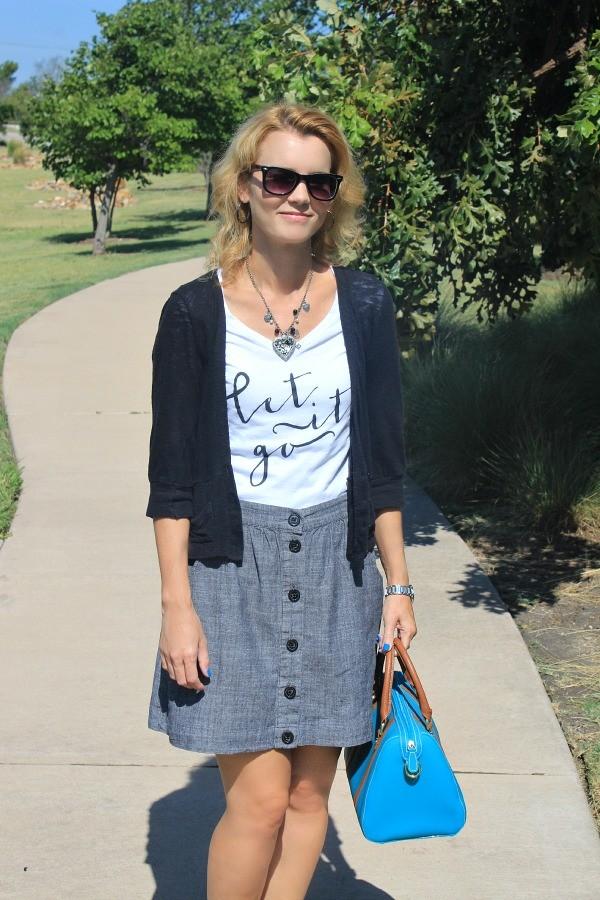Let It Go T-Shirt, Cute Outfit Ideas