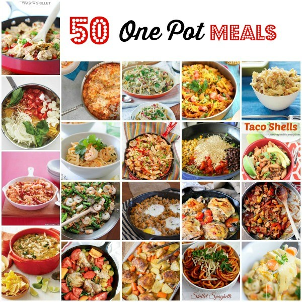 One Pot Meals, One Skillet Meals, One Pan Meals, Easy One Pot Meals, Easy Weeknight Meals, Fast One Pot Meals, Easy Skillet Meals