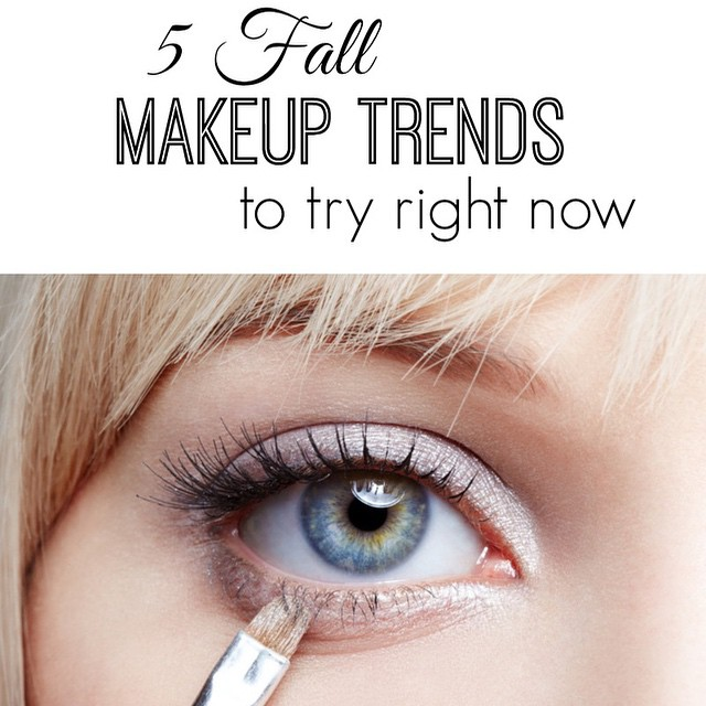 5 fall makeup trends to try right now. From metallics to bold brows. Link in my bio!