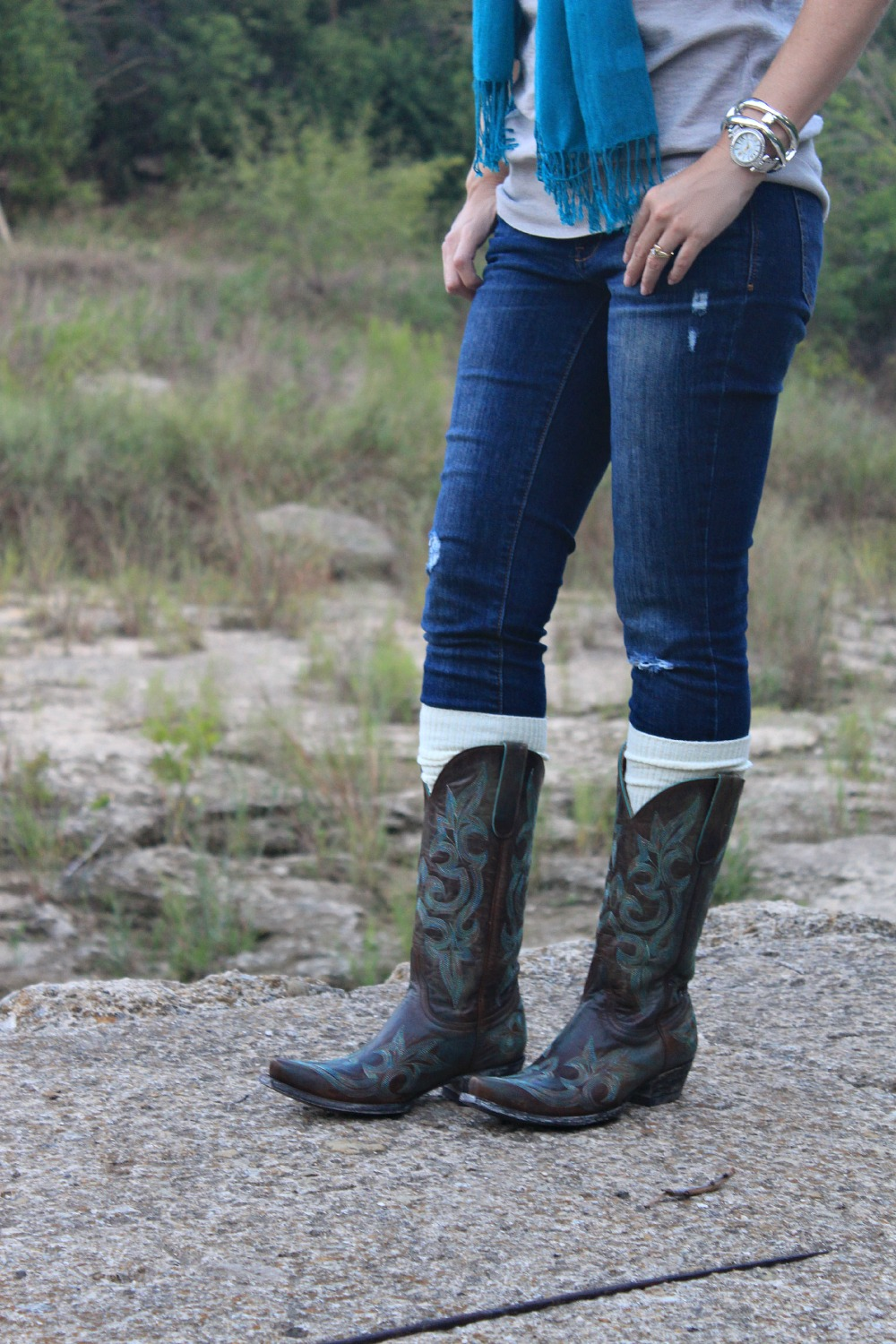 How to wear cowboy boots fashion 11