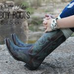 Fall Outfit Idea: Cowboy Boots & Boot Socks