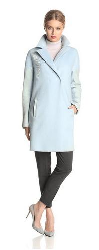 Elie Tahari Coats, Women's Coats, Wool Coats, Blue Women's Coats