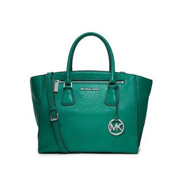 Michael Kors emerald green satchel