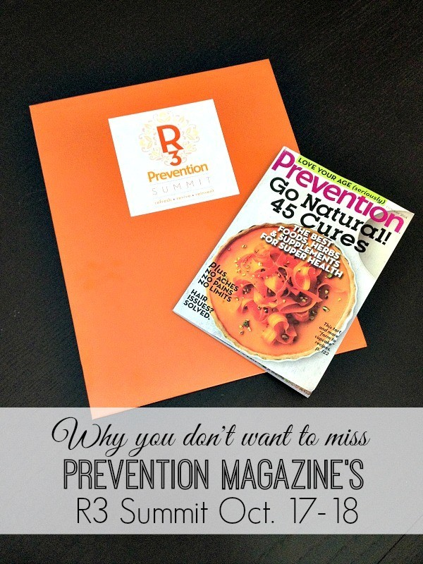 Prevention Magazine R3 Summit 2014