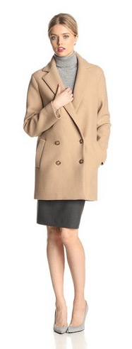 wool coat, camel colored coat, Theory Coats, Women's Coats