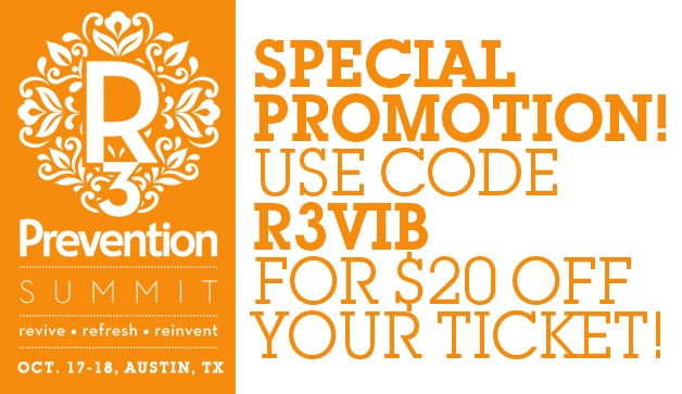 Prevention R3 Summit Coupon Code