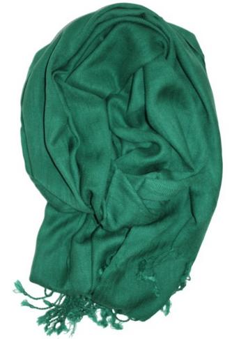 emerald green scarf