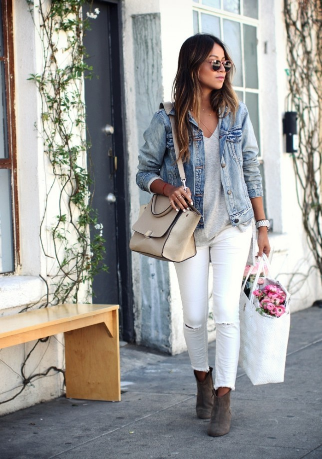 how to wear white denim in fall, cute outfit ideas, cute fall outfit ideas