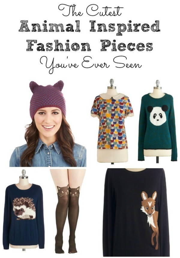 Animal Inspired Fashion