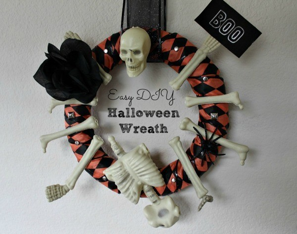 DIY Halloween Wreath 02