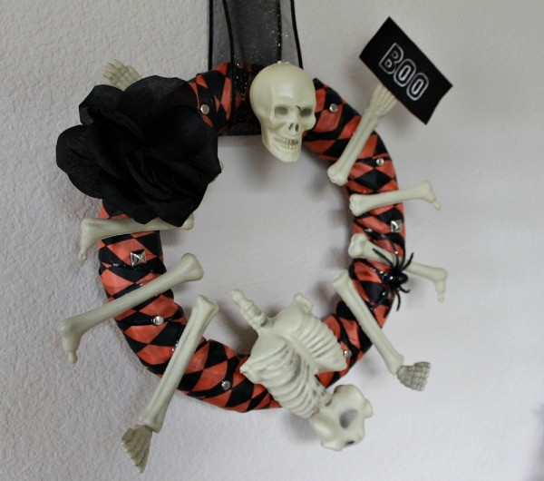 DIY Halloween Wreath 03
