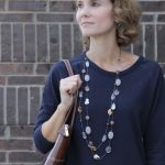 Fall Outfit Ideas: Navy and Brown