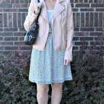 Cute Outfit Ideas of the Week #44: What to Wear with a Pink Leather Jacket