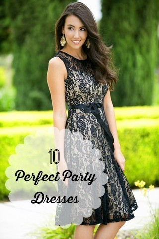 Ten Perfect Party Dresses