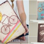 Home Decor Deal – Wooden Bicycle Sign Only $11.95 + Free Shipping