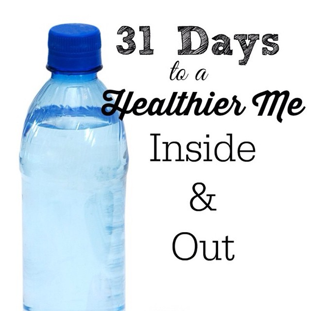 31 Days to a Healthier Me - Inside & Out. I'm excited to join the #Write31Days challenge. Read about my next 31 days here {www.momfabulous.com}