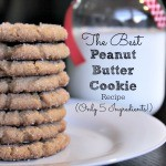 The Best Peanut Butter Cookie Recipe – Only 5 Ingredients!