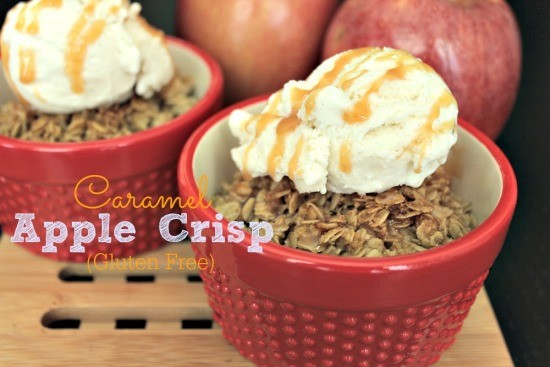 Caramel Apple Crisp Gluten Free 06
