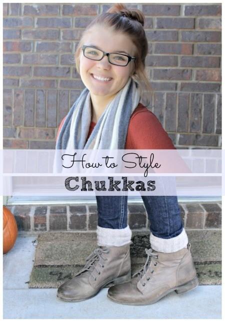 How to style chukkas