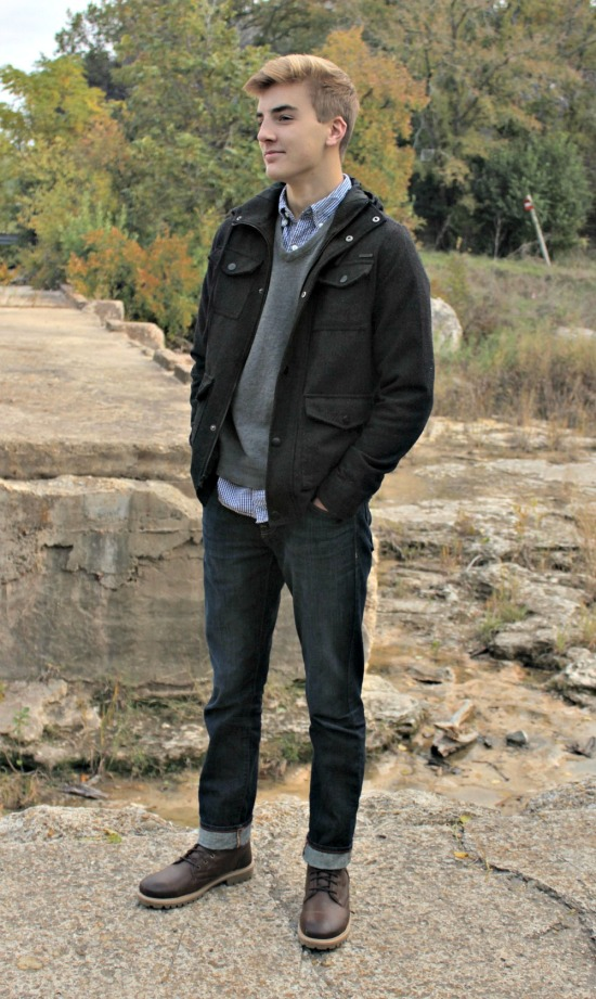 Outfit Ideas with mens boots 03
