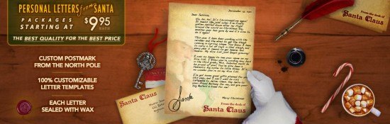 Personal Letter from Santa 01