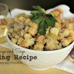 An Easy and Flavorful Sausage and Sage Stuffing Recipe