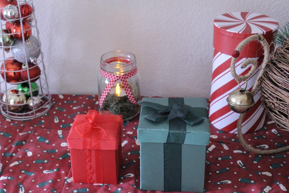 Real Candles On Christmas Tree
