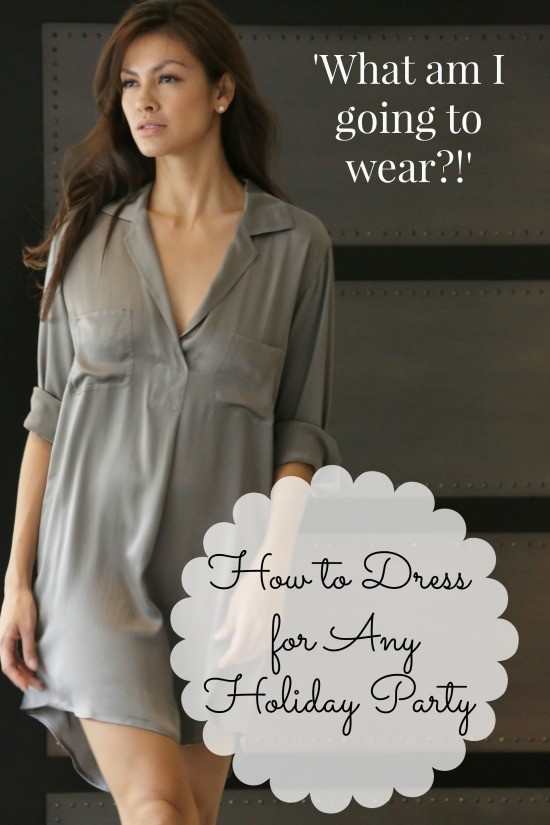Holiday Party Dressing Tips