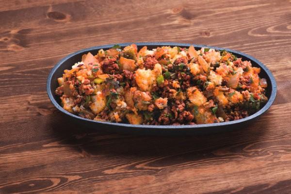 Roasted Pepper Chorizo Cornbread Stuffing Recipe