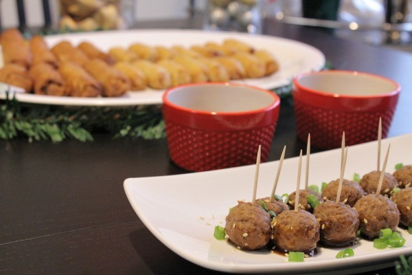 asian inspired holiday appetizer party 10