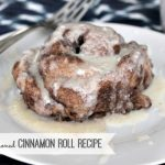 Old Fashioned Cinnamon Roll Recipe