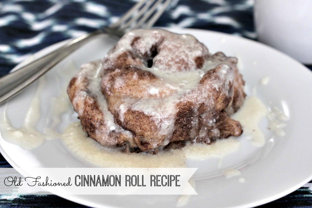Old Fashioned Cinnamon Roll Recipe