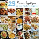 25 Easy Appetizers for Your Get Together