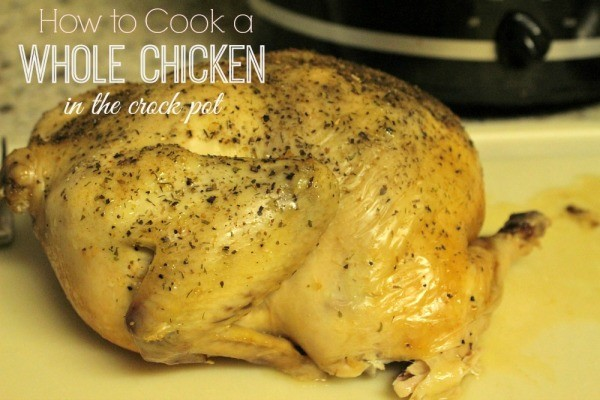 how to cook a whole chicken