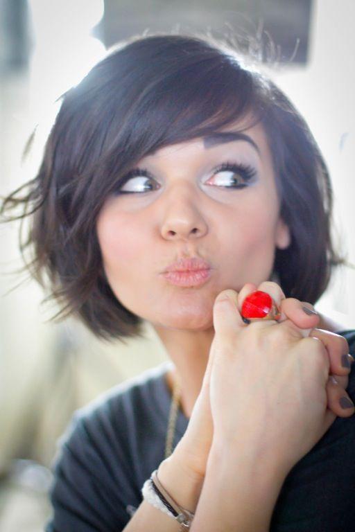 Fabulous 1000 Images About Haircuts On Pinterest Bob With Bangs Bangs Short Hairstyles Gunalazisus