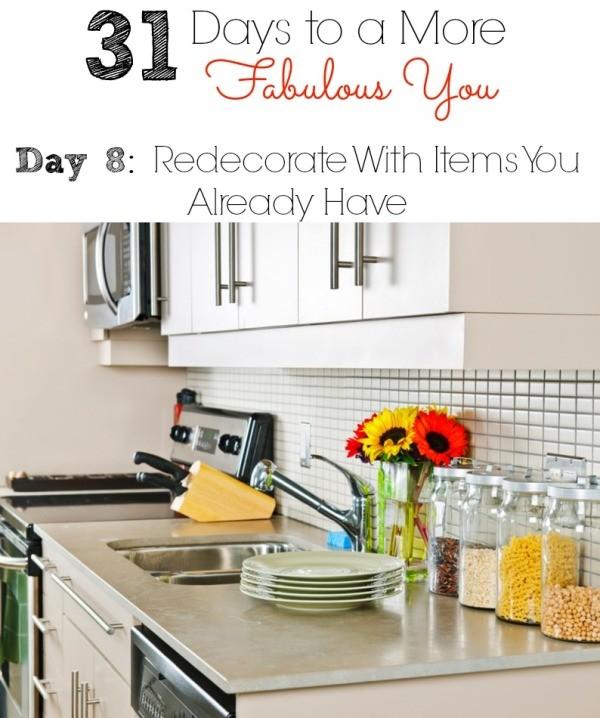 31 Days to a More Fabulous You Day 8