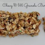 Chewy No Bake Granola Bars Recipe