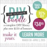 Don't Miss Out On This Fantastic Bonus from Craftsy Included in The Ultimate DIY Bundle – Last Day!