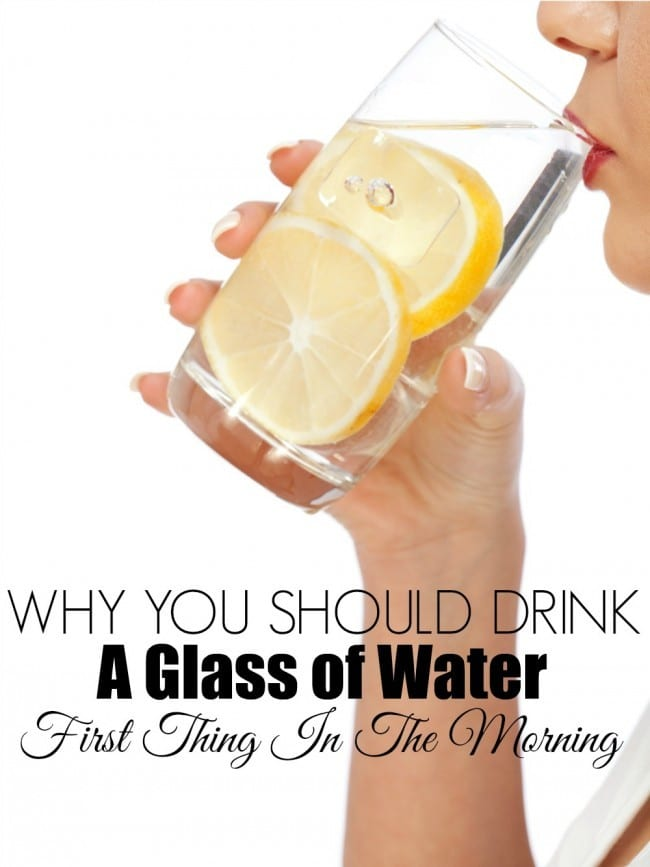 Learn why you should drink water first thing in the morning.